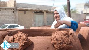 بالصور؛ صناعة التنانير الطينية