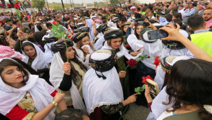 بالصور: الأيزيديون يحتفلون بعيد رأس السنة (سري سال)