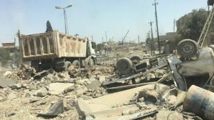 داعش يترك مدينة الموصل مدمرة