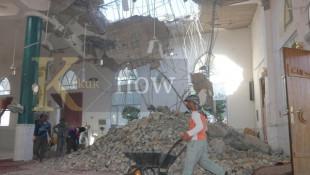 بالصور: اثار الزلزال في قضاء خانقين