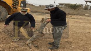 بالصور: رفع اكثر من 14 الف من المخلفات الحربية في الحويجة