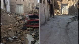 بالصور: الموصل في وقتين مختلفين