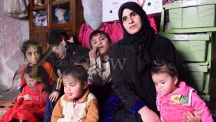 بالفيديو: معاناة إسراء في الموصل