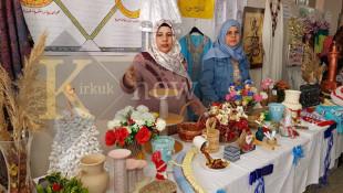 نساء محو الامية يظهرن مواهبهن في كركوك