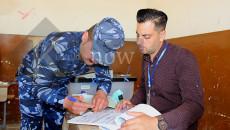 بالصور: الاقتراع الخاص في كركوك
