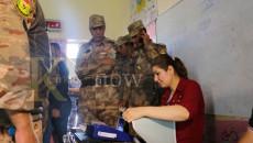 نسبة المشاركة في التصويت الخاص وصلت إلى 75% في نينوى
