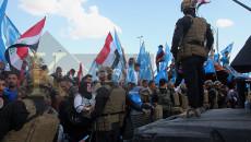 المعترضون يطالبون بانتائج اصواتهم<BR> الجبهة التركمانية: لن نكسر الحصار على صناديق الاقتراع