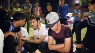 """بالفيديو: عودة لعبة """"المحيبس"""" الى الموصل"""