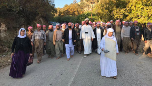 In pictures: Ezidis gather at Lalish Temple for Olive Harvest ceremony