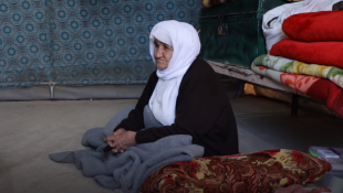 Rawshe Qasim: a 130-year-old Ezidi woman from Shingal has been through plenty in her lifetime.