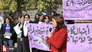 Women suffer appalling conditions in Kirkuk <br> Women rights activist reveals 2018 statistics of cases involving violence against women