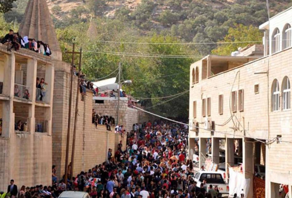 Foto-galeri: Yezidiler'in Cema bayramı