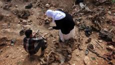 Sincar'da toplu mezar kazıldı