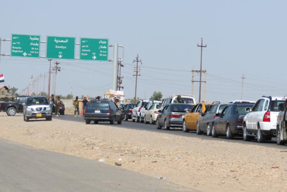 1200'den fazla göçmen aile Diyala'nın Sadiya ilçesine geri döndü