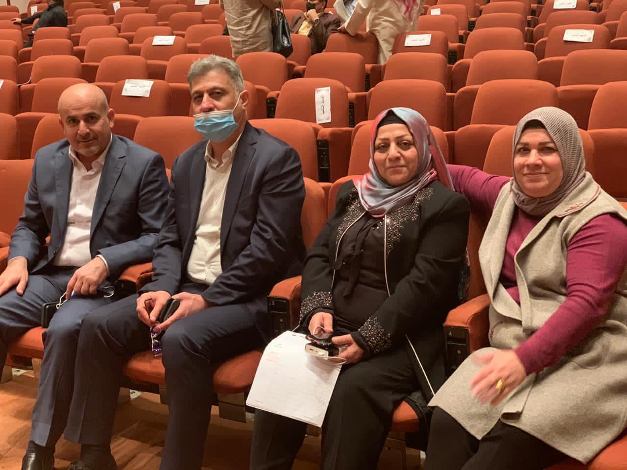التركمانيتان في الدورة الحالية للبرلمان