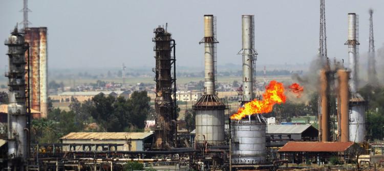 Kirkuk's oil export dropped by sixty percent