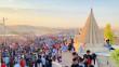 """خمسة عشر ألف شخصاً بدون كمامات..<br> الايزيديون يحيون مراسيماً دينية """"متجاهلين الإجراءات الوقائية"""""""