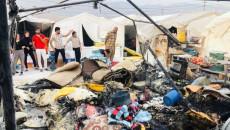 Göçmen kampları itfaiye araçlarından mahrum!