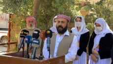 Ali Elias appointed 'Baba Shékh' of the Ezidis