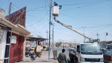 Long hours of power outage at the threshold of Mosul's baking summer