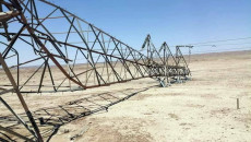 War of power transmission towers