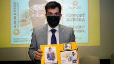 Picture of Ezidi doctor put on stamp in Armenia