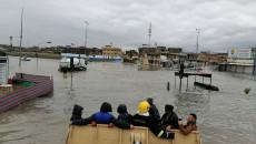 Heavy rain hit Iraqi provinces, killing five IDPs in a house collapse