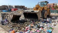 Kerkük çöp yığınlarıyla boğuşuyor