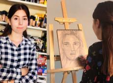 Çınar Qaso: Hemşire, esnaf ve ressam