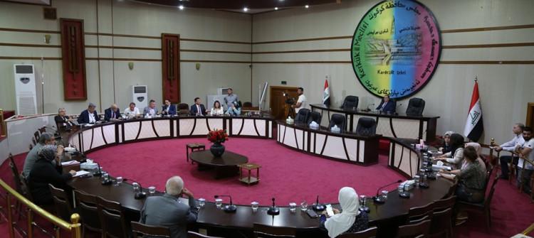 عندما يكون الرقيب فاسدا <br> اجتماع لمجلس محافظة كركوك يكلف الحكومة العراقية نحو 3 مليار دينار