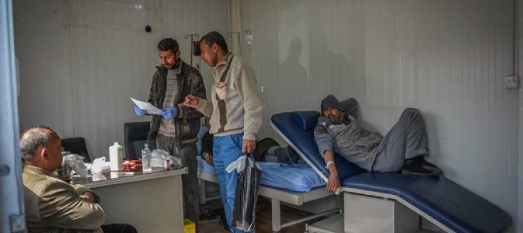 Medications sent to cancer patients in Mosul