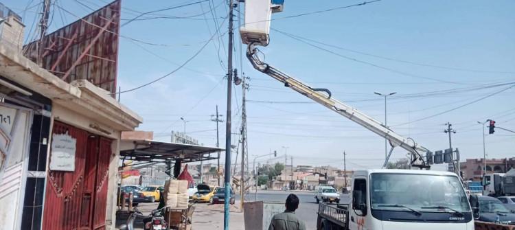Musul'un kavurucu yazında elektrik kesintileri halkı bezdirdi