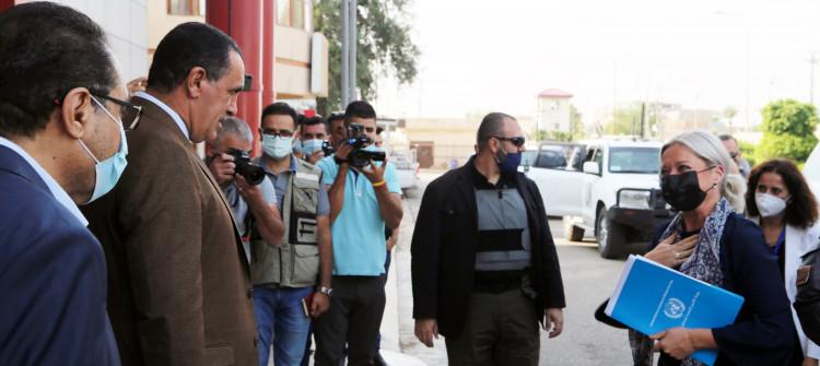 UN representative visits Kirkuk to discuss IDPs and elections