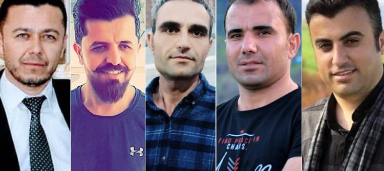 المحكمة تصادق على قرار السجن لست سنوات بحق خمسة من صحفيي وناشطي اقليم كوردستان