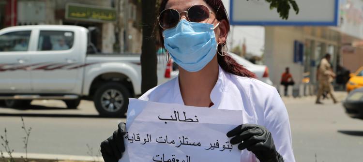 كورونا يصيب 200 من الكوادر الطبية في كركوك