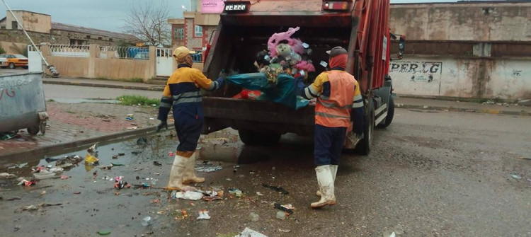 Baghdad sends Kirkuk only $0.42 per ton of garbage that has to be collected and disposed of