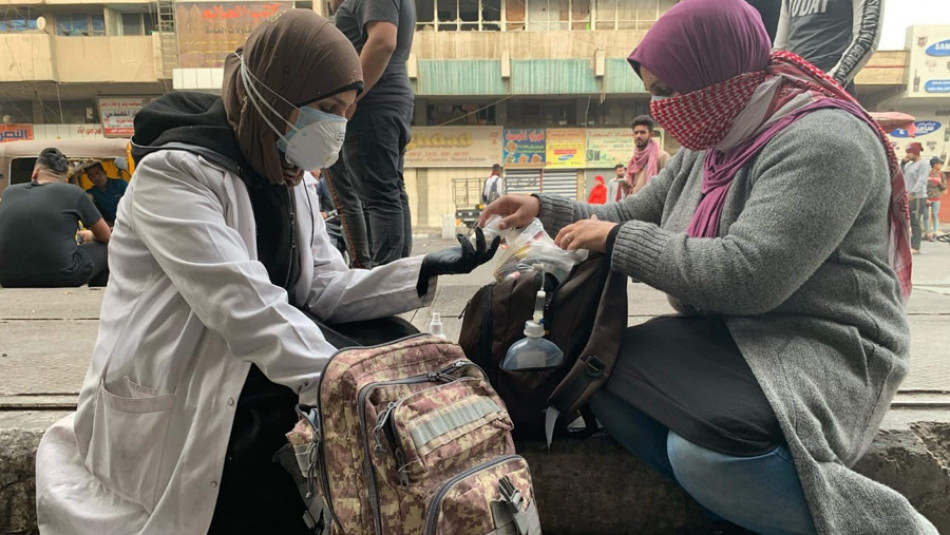 Iraqi women are at the forefront of the protests