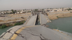 Mosul residents frustrated by slow progress in rehabilitation of city's vital bridges