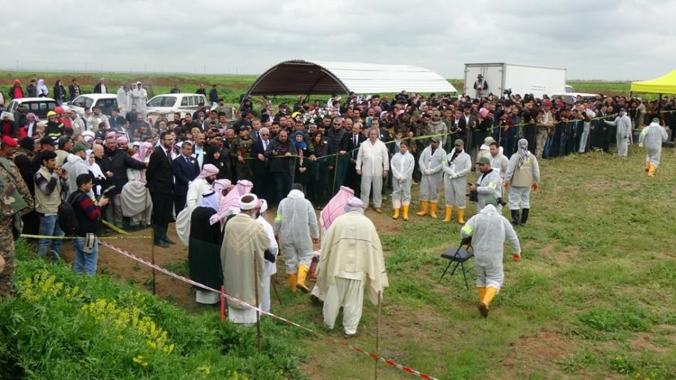 Remains of 104 slain Ezidis to be returned to Shingal