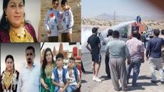 Onlar Yezidi ve Elkuşlu<br>Arabanın içinde yanan dört kişinin kimliği ortaya çıktı