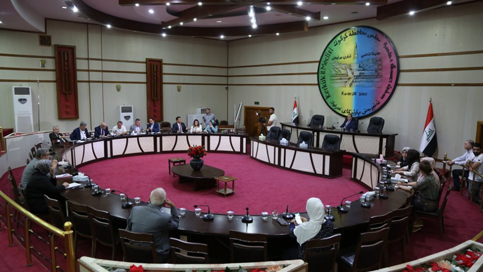 Süpervizör yolsuzluk yaptığında<br>Kerkük konseyi toplantı maliyeti; 3 milyar dinar'dir