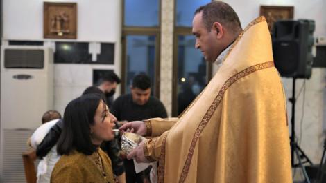 Christmass Mass in Kirkuk