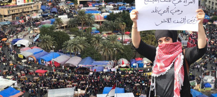 Iraqi women lose their role in the new government with only holding a minister