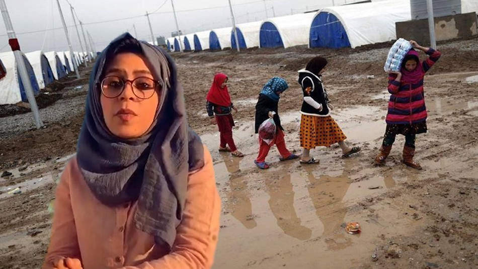 Safa Salah: I am a human rights activist and the voice of IDPs should be heard