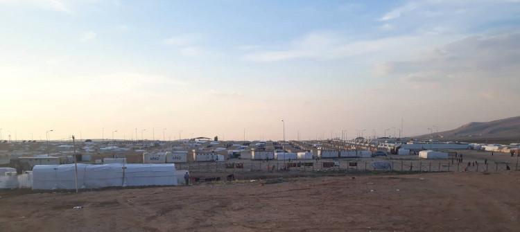 اعتقال شخصين بتهمة إحراق خيم النازحين في دهوك