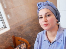 Layla Barznji achieves two goals through opening a tailoring shop for women in Mosul