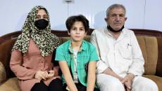 تلقوا زيارات من وفود حكومية..<br> عائلة الطفل أحمد عزيز تروي قصتها لـ(كركوك ناو)