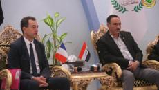 فرنسا مستعدة لإعادة تأهيل مطار الموصل