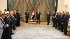 بحضور عدد من قادة الكتل..<br> رئيس الجمهورية يكلف الكاظمي بتشكيل الحكومة
