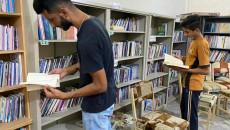 """مكتبة """"علي السراي"""" تتحدى زمن كورونا وداعش"""
